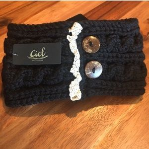 New Ciel Headband, Black, Box A